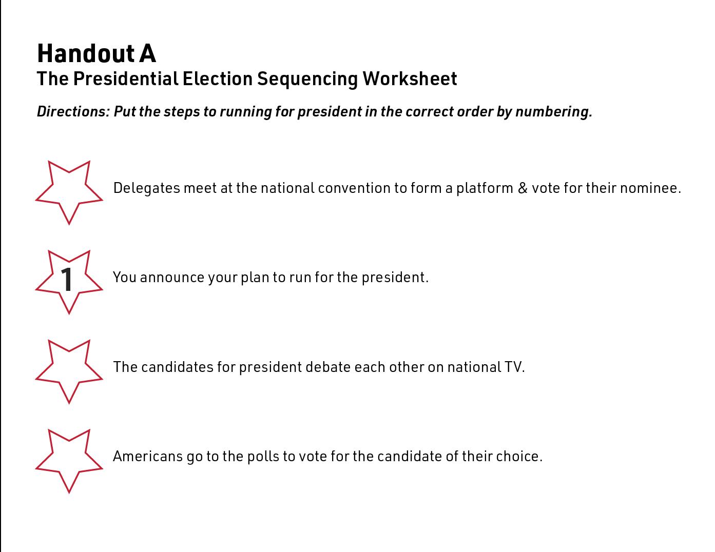 kid's guide to running for president