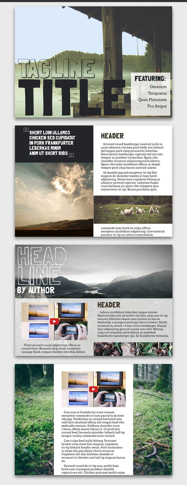 Adventure Digital Magazine Inspiration