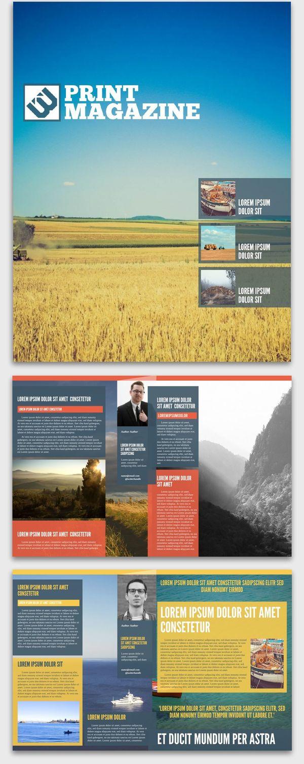 Azure Magazine Inspiration