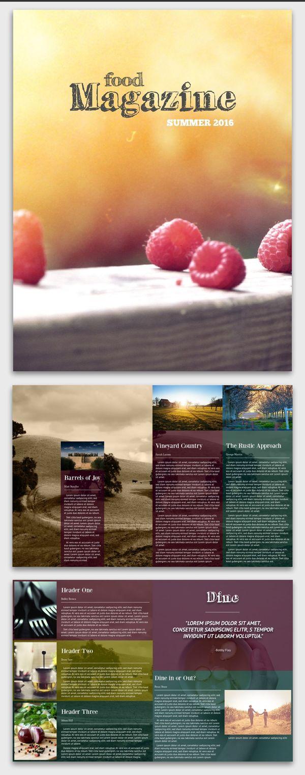 Connoisseur Food Magazine Inspiration