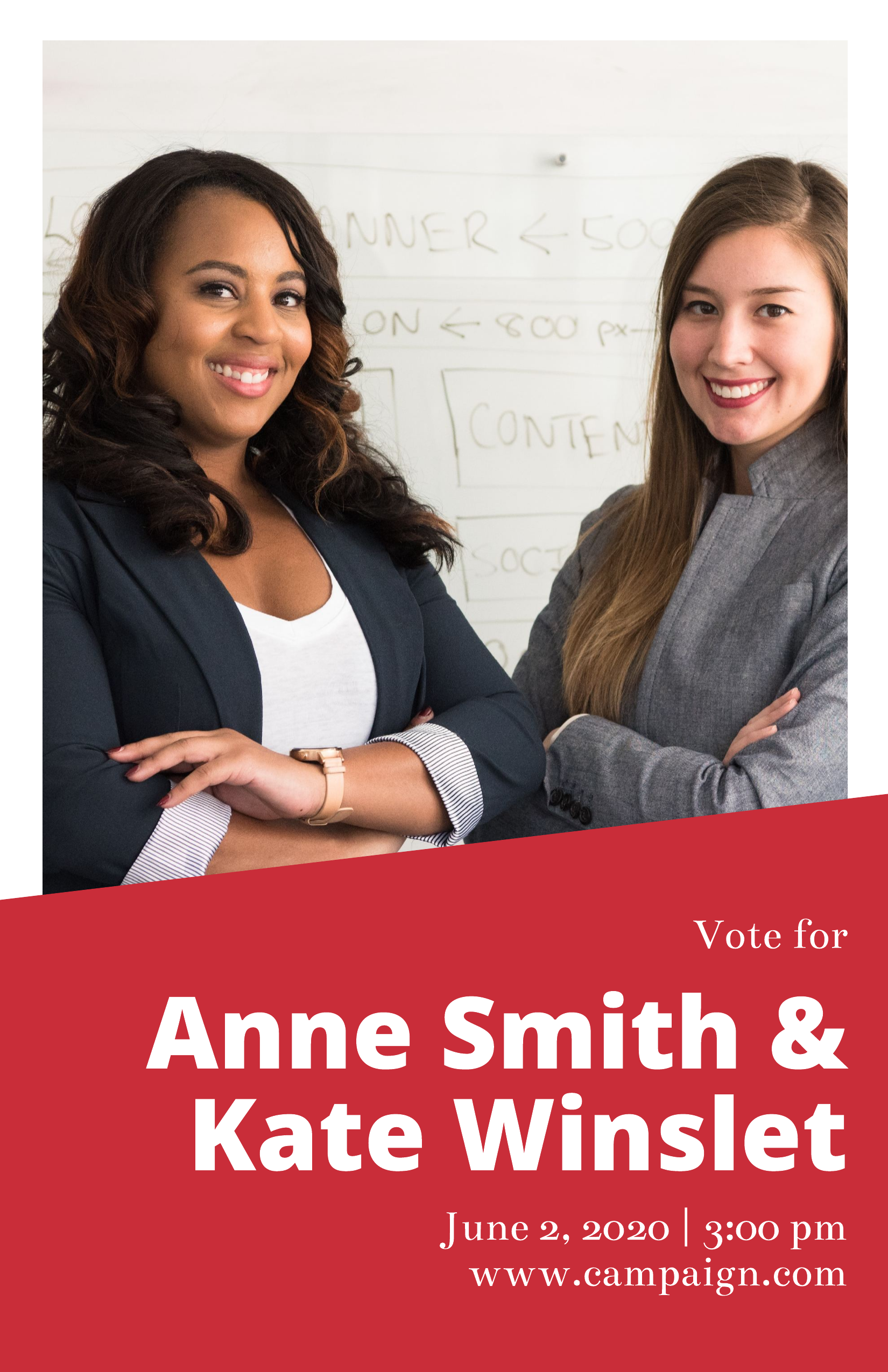 duo campaign poster