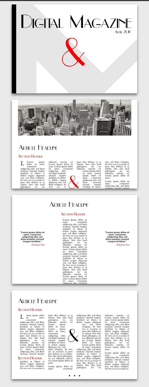 New Yorker Business Magazine Inspiration