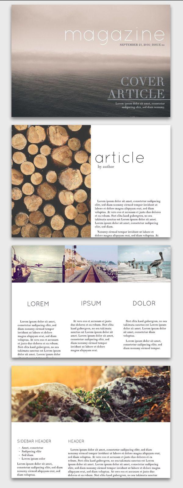 Seasons Digital Magazine Inspiration