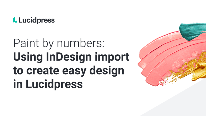 InDesign import