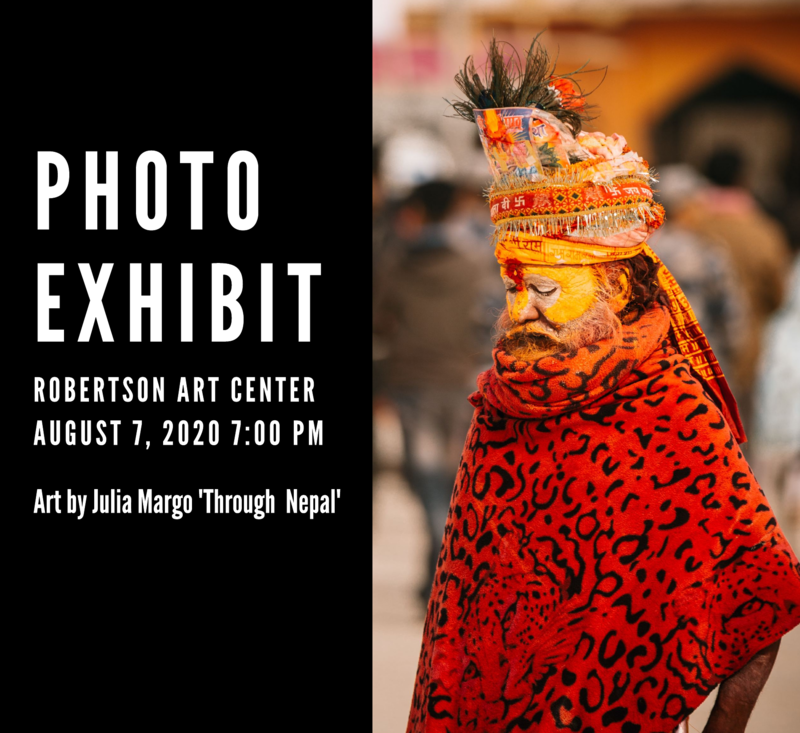 Photography exhibit event program template
