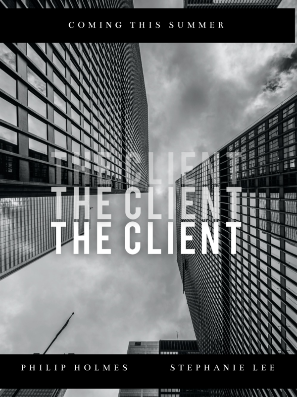 The client movie poster template