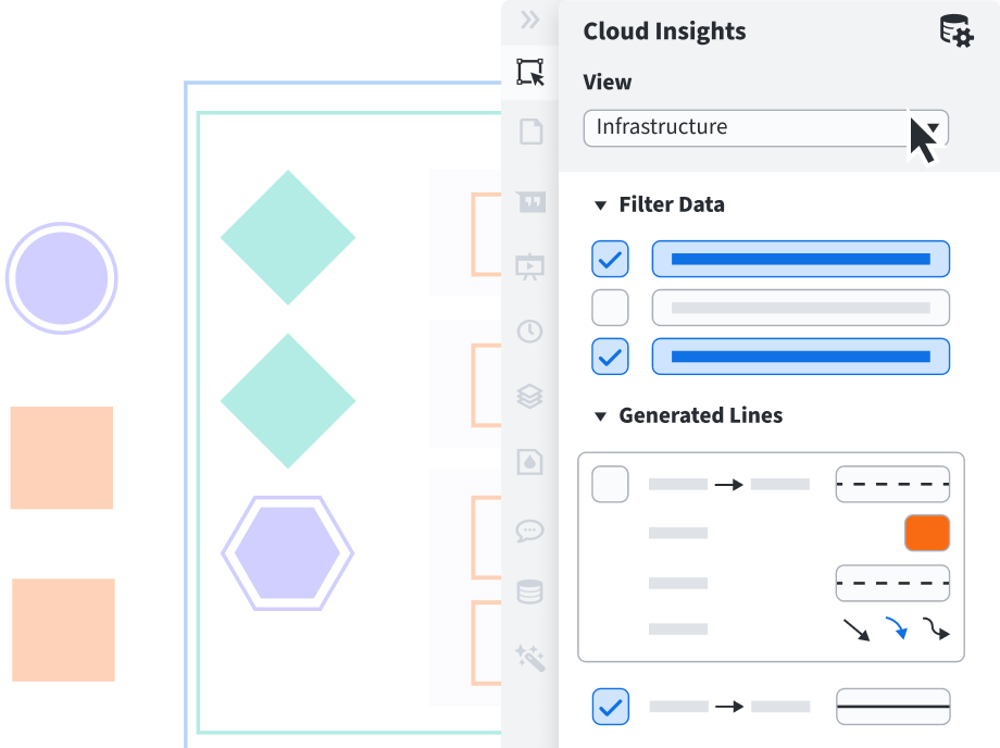 Lucidchart Cloud Insights