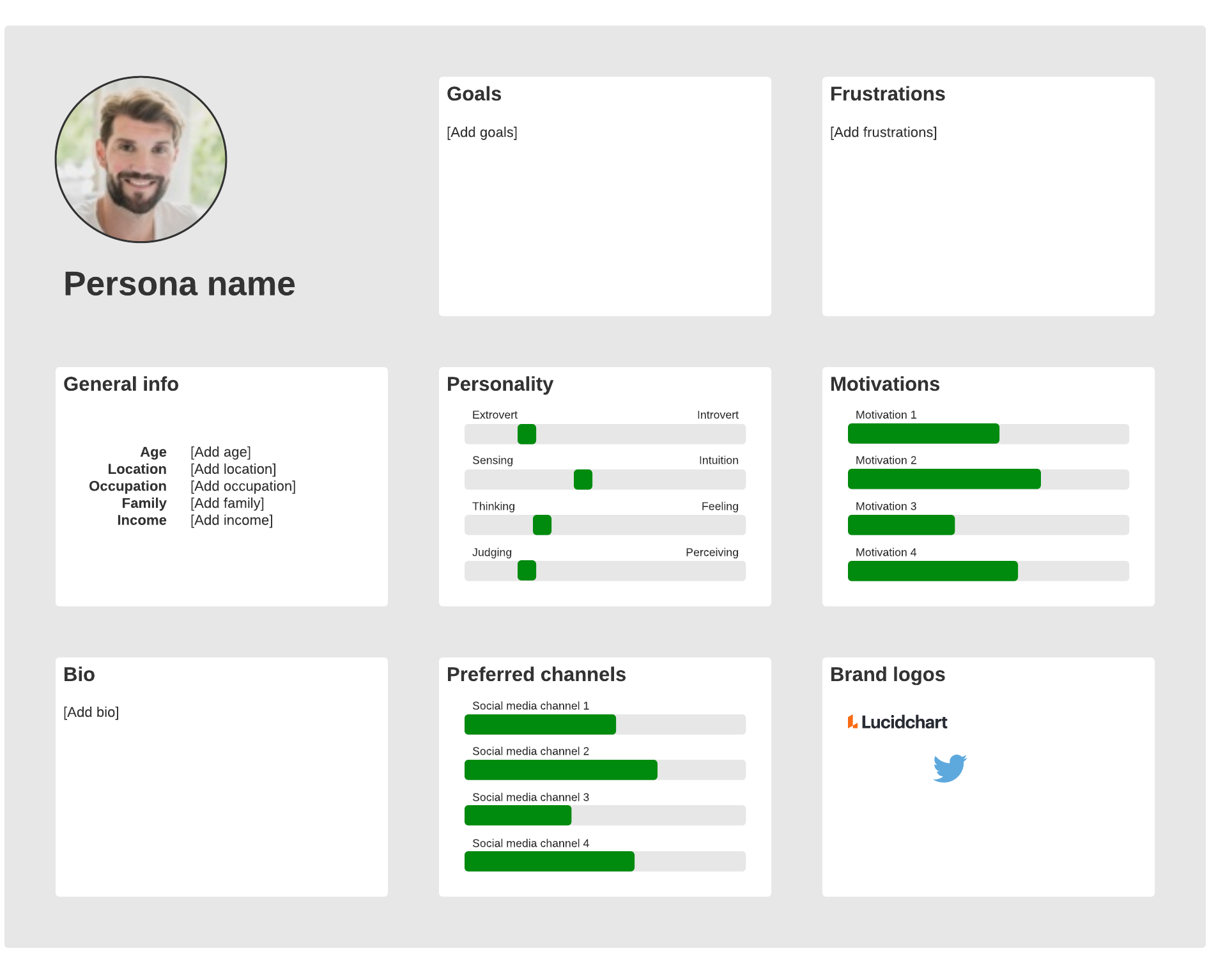 user persona example