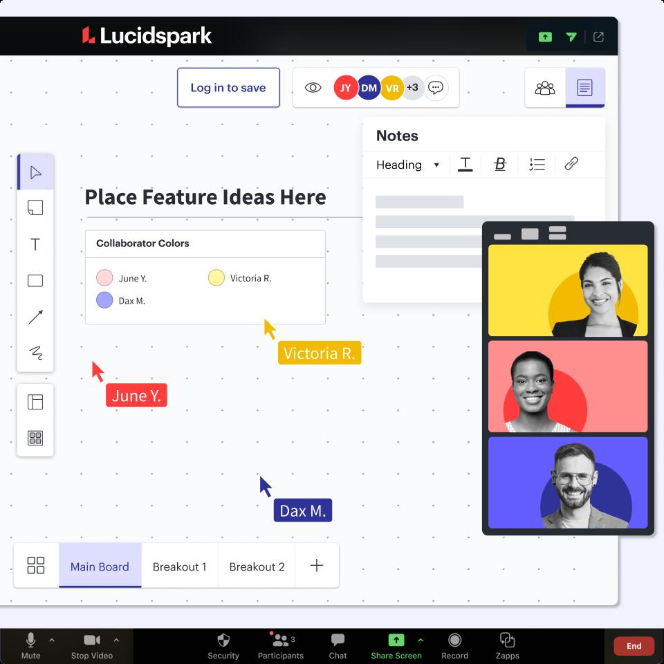 Zoom App + Lucidspark