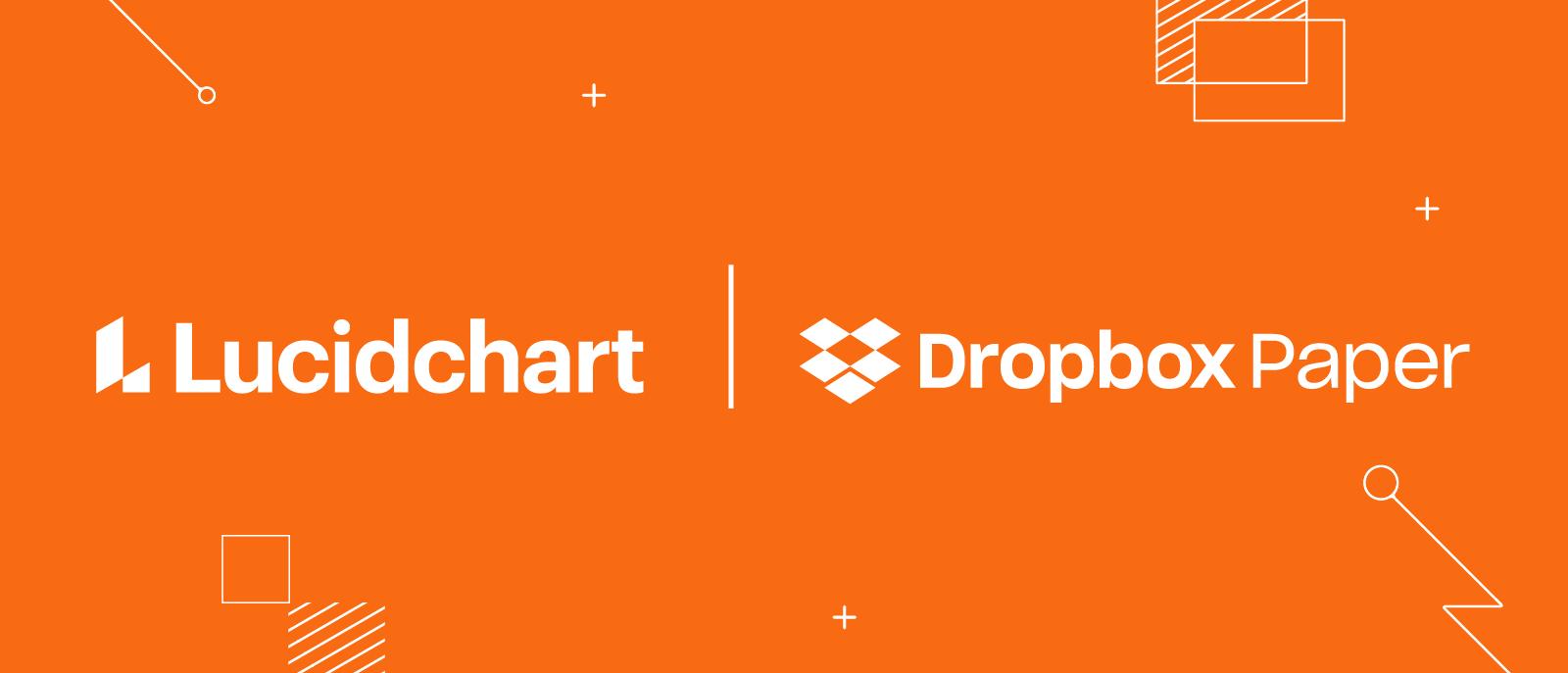 Lucidchart integration with Dropbox Paper