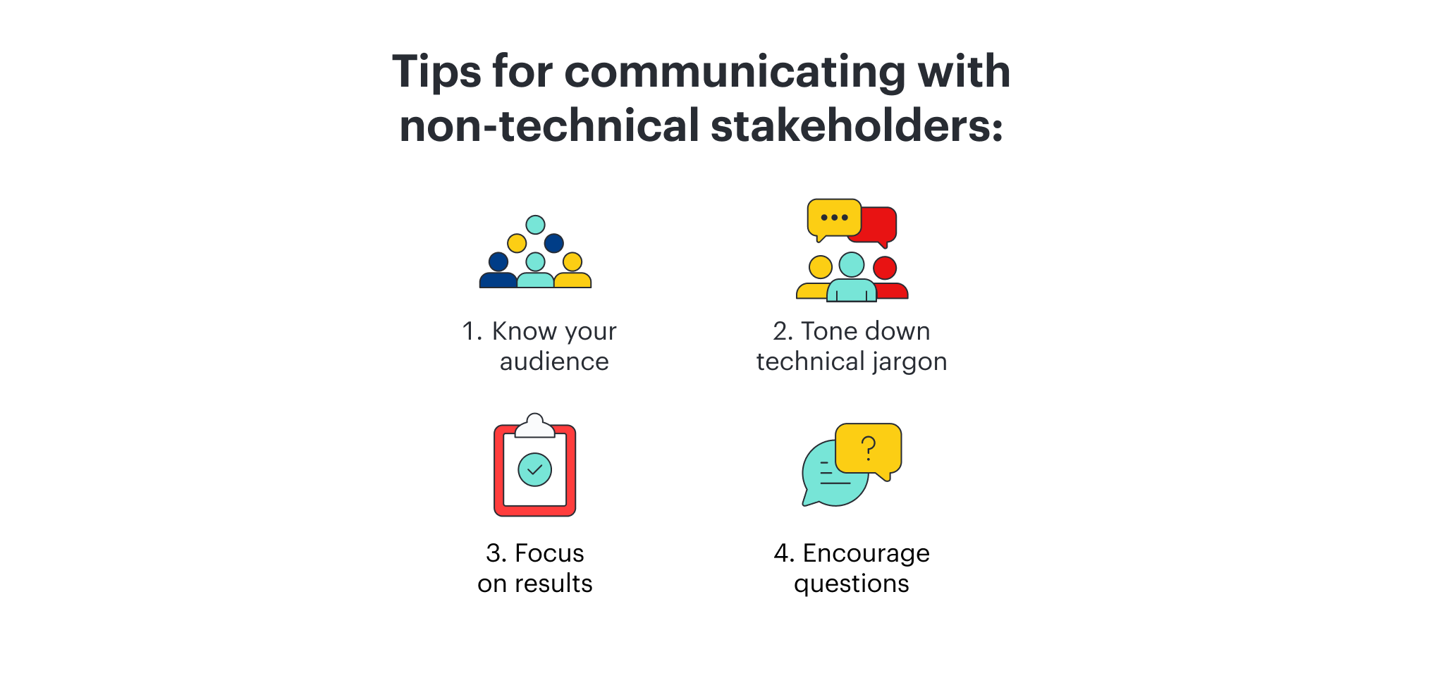 communicating technical information to non-technical personnel