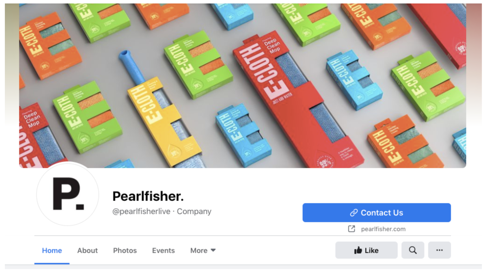 Pearlfisher Facebook Image Example