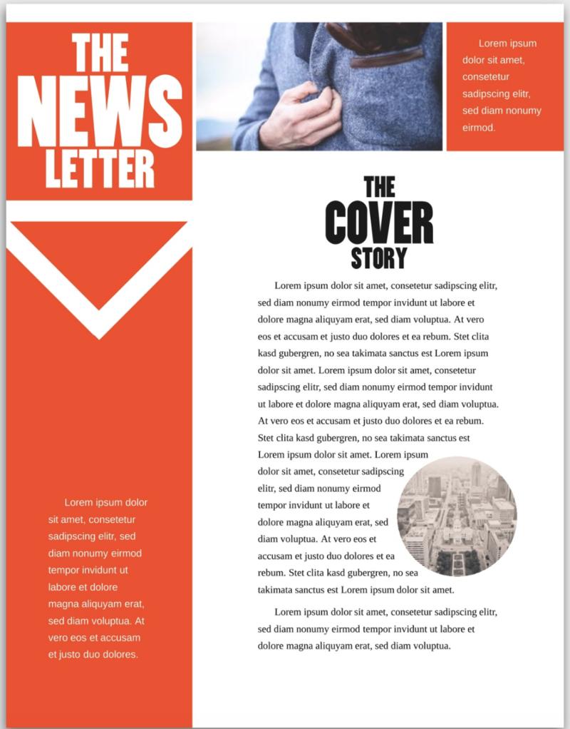 blackwidow newsletter template