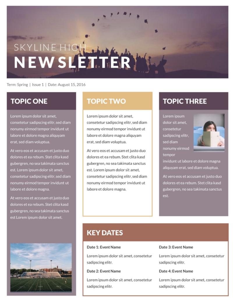 skyline newsletter
