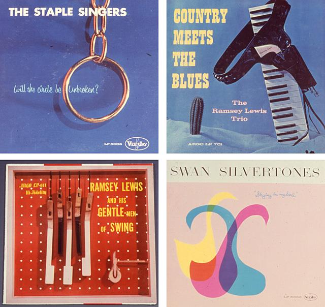 Album cover designs by Leroy Winbush