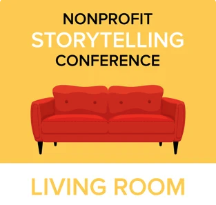 Nonprofit Storytelling Living Room cover image