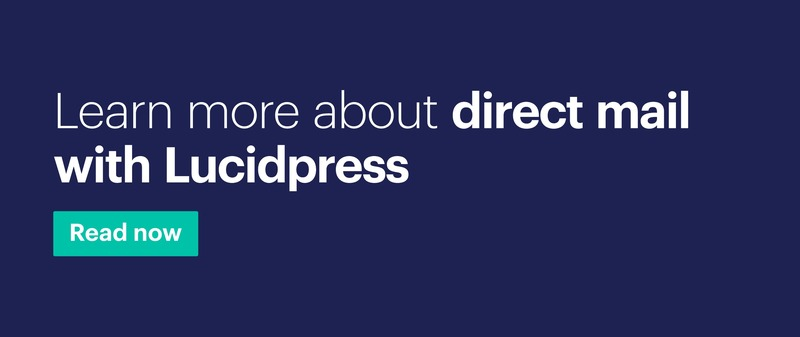Direct mail in Lucidpress