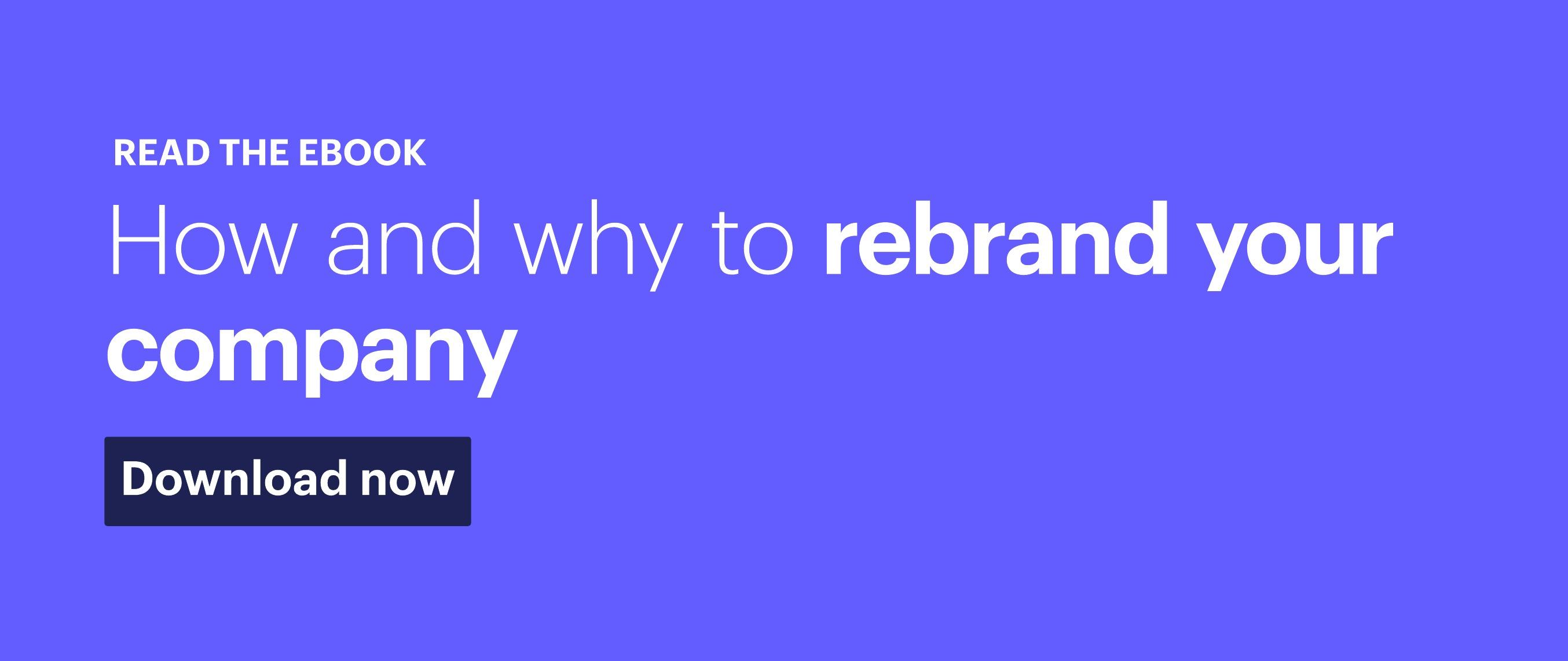 """Rebranding"