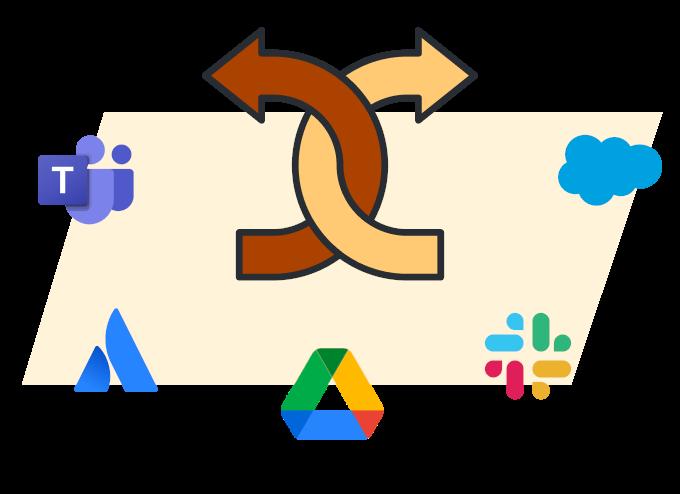 Наглядный пример тесной интеграции с ведущими приложениями и сервисами