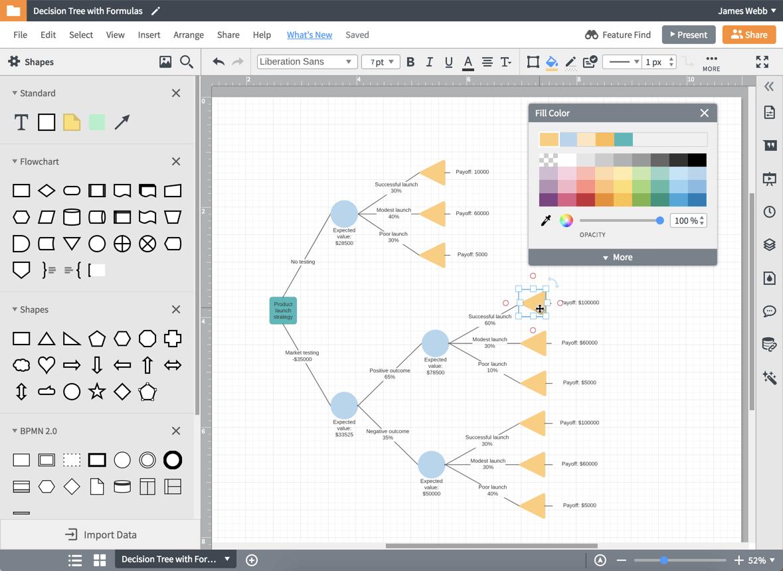 конструктор для деревьев решений