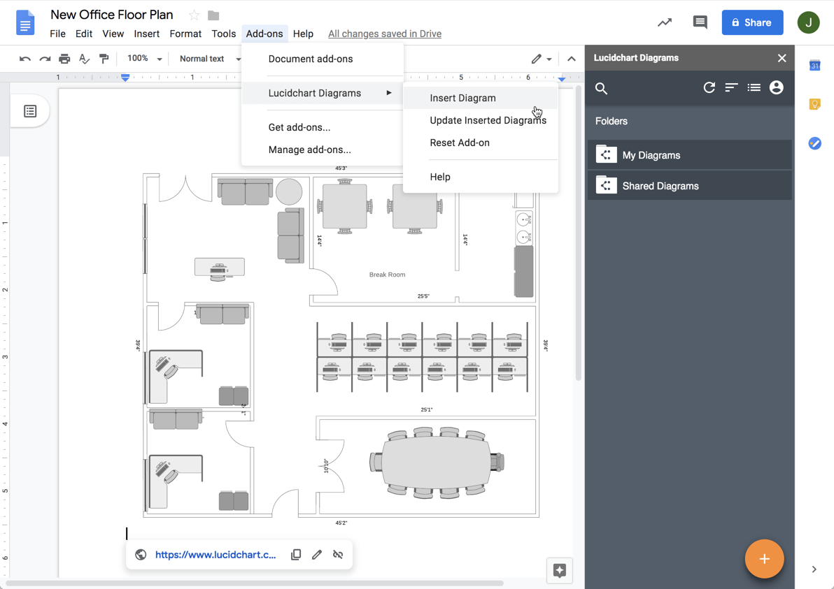 diagrams in G Suite