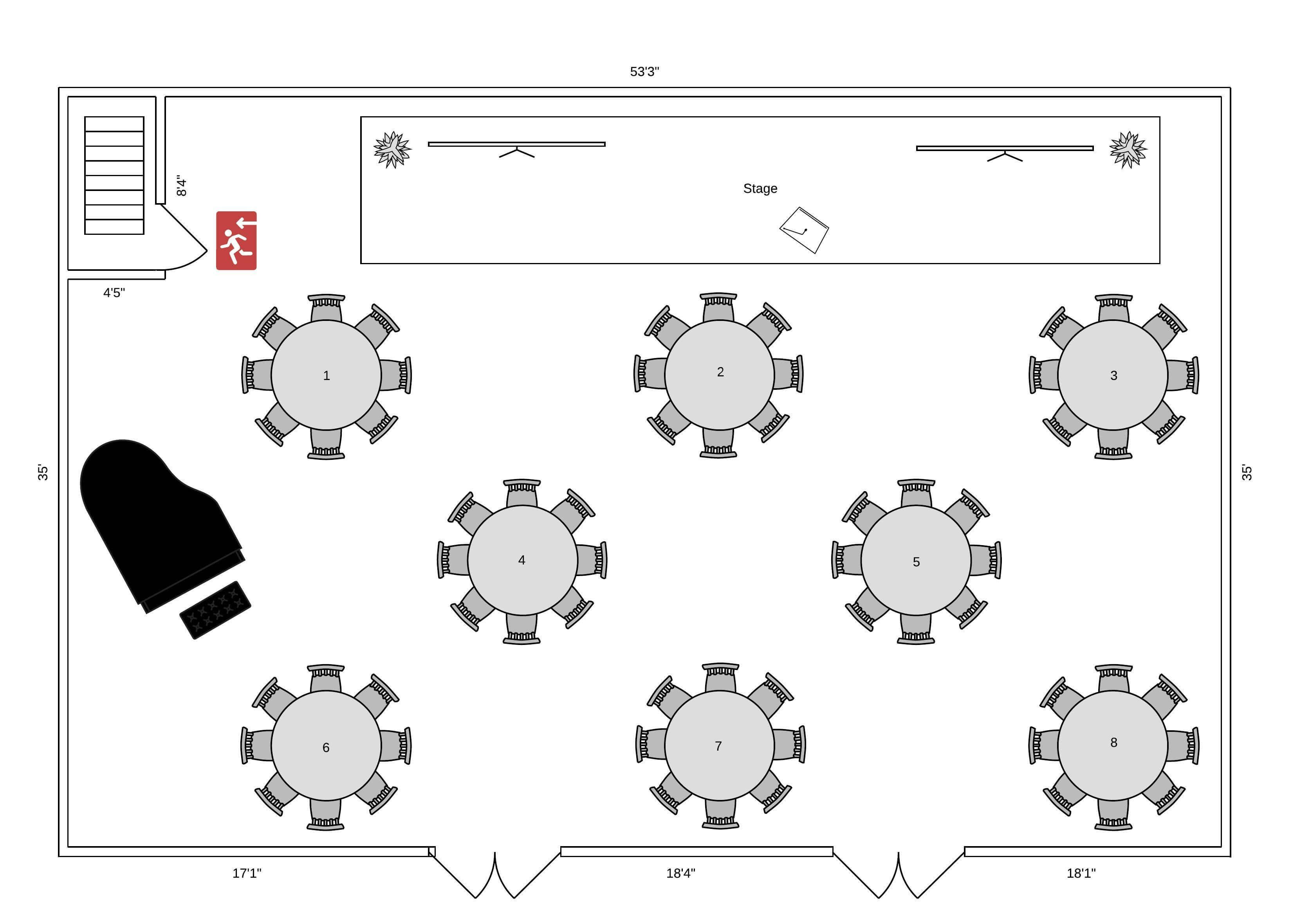 event floor plan template