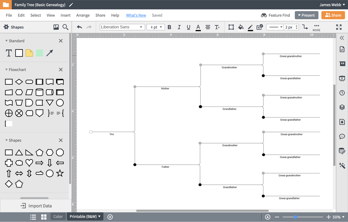 family tree creator