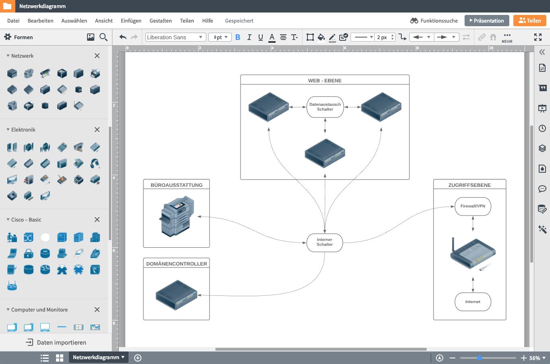 Netzwerkplan freeware