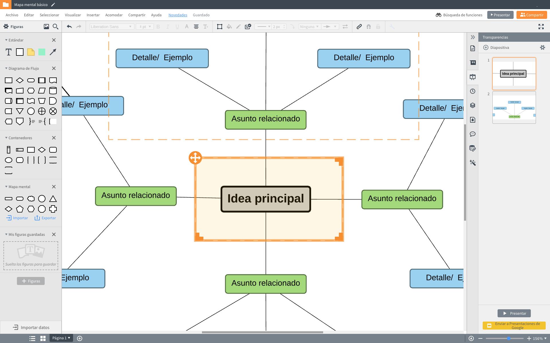 Mapa mental programa