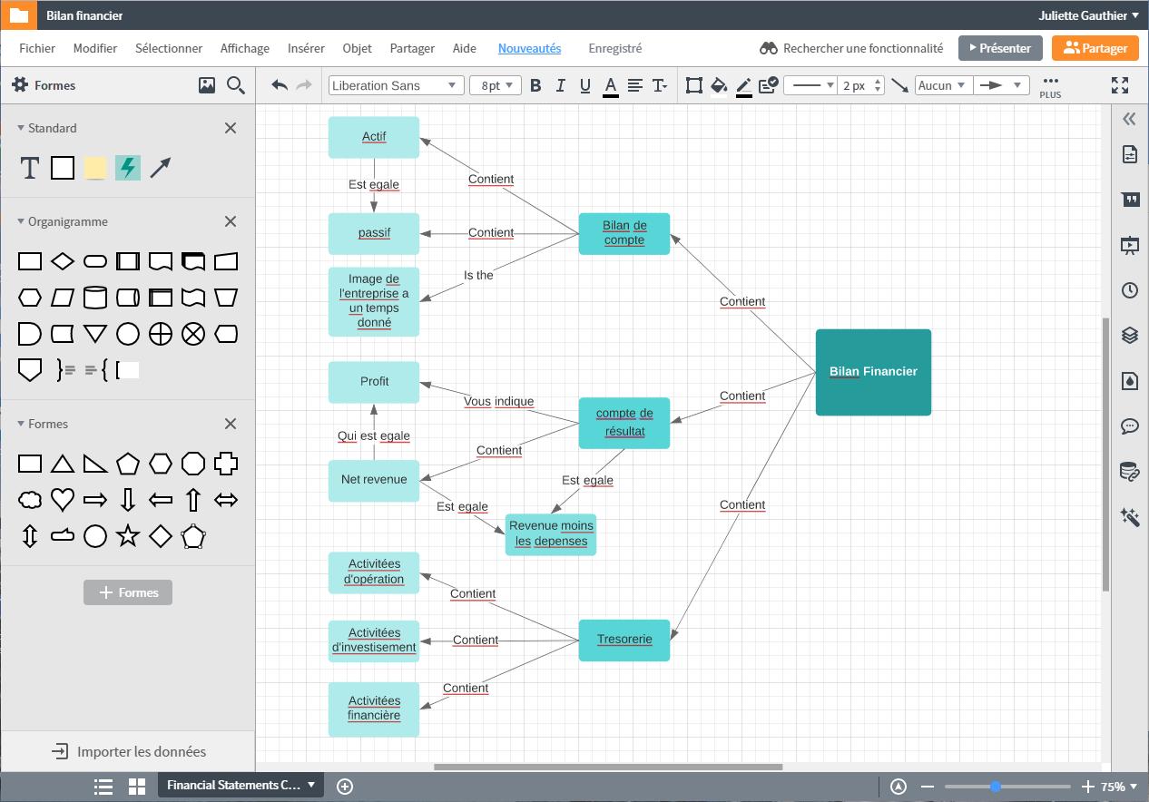 Logiciel de carte conceptuelle pour vos projets professionnels