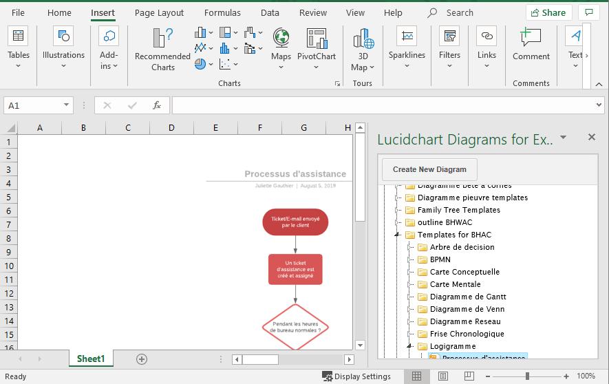 Télécharger vos logigrammes dans Microsoft Office