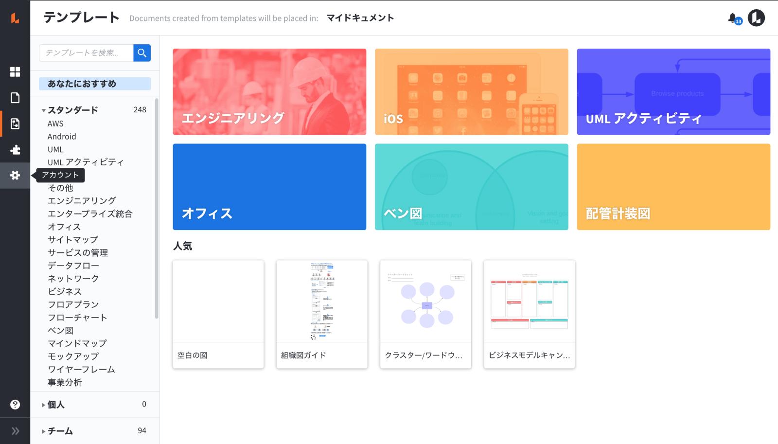 ユーザー思考を中心とした特性要因図(フィッシュボーン)フリーソフト