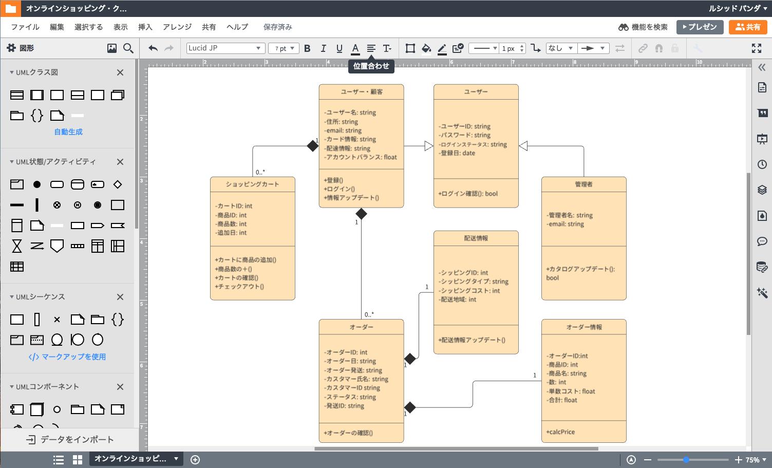 開発者のためのUML作成ツール