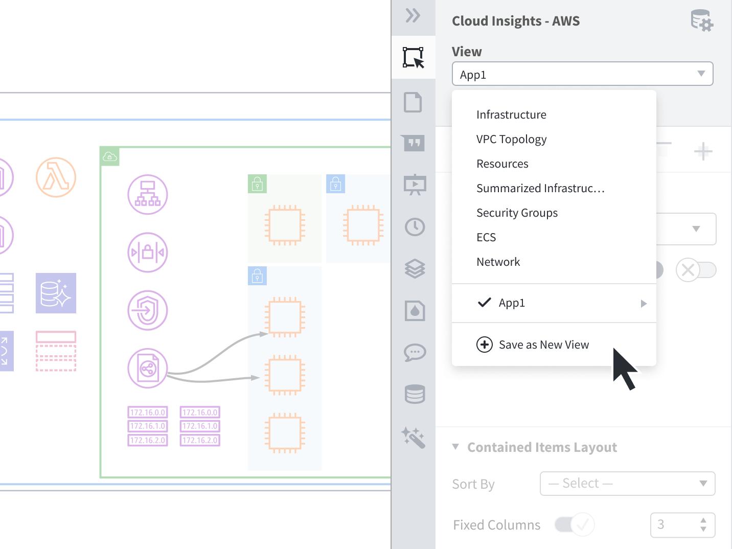 自動作成機能も備えたLucidchartネットワーク図作成ツール
