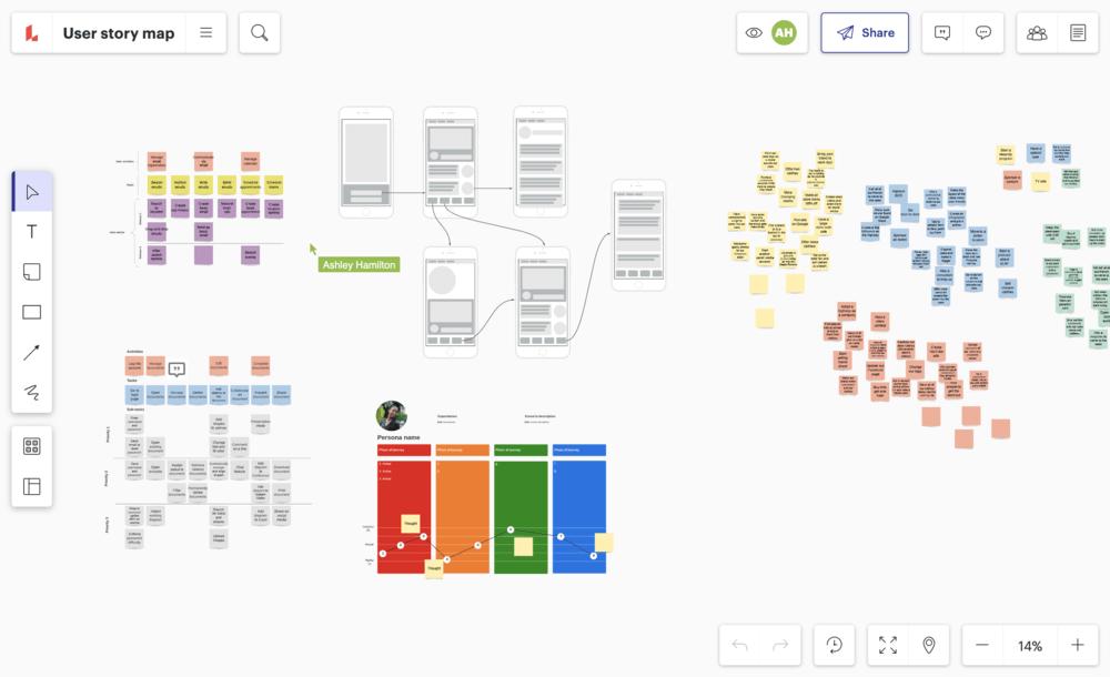 ユーザー目線での企画と開発を実現できるユーザーストーリーマッピングツール