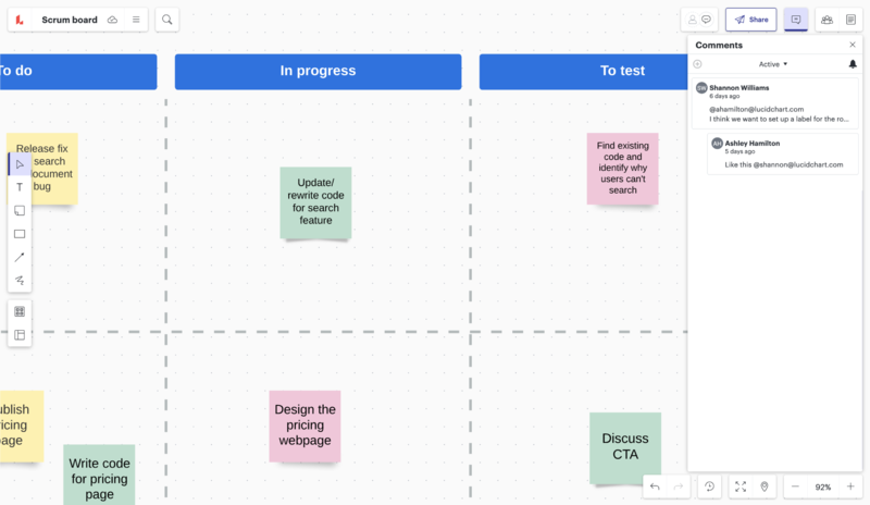 ferramenta on-line de planejamento sprint