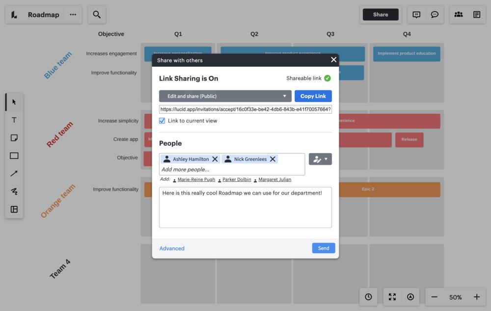 software voor het maken van productstrategieën
