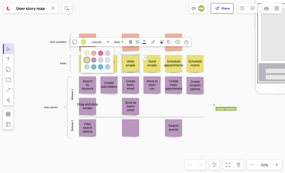 user story mapping tool