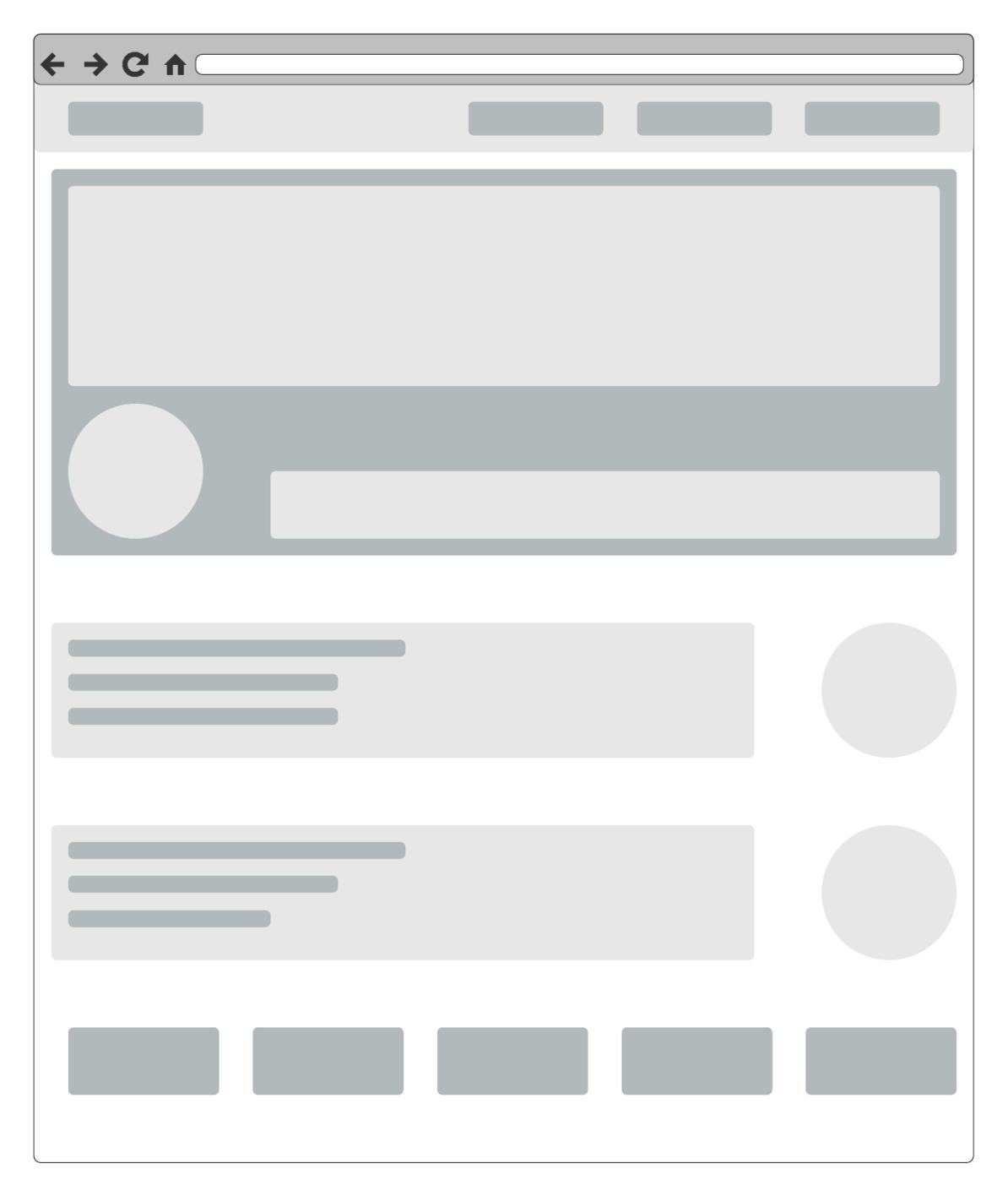 Low-Fidelity-Wireframe