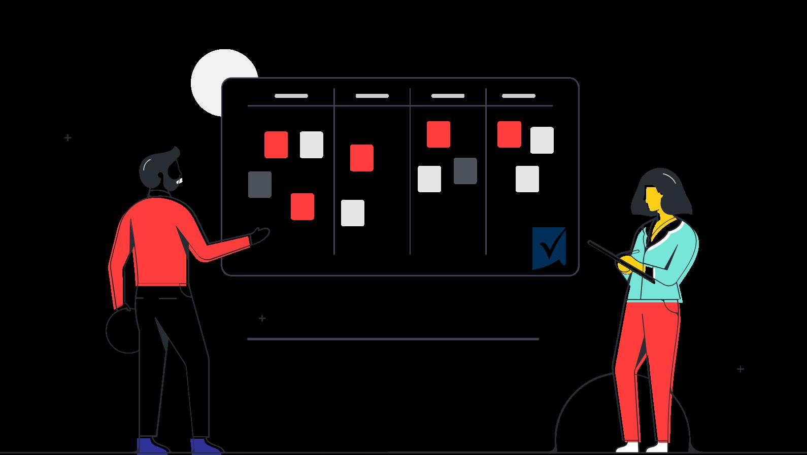 Combineer creatieve ideeën met gestructureerde planning