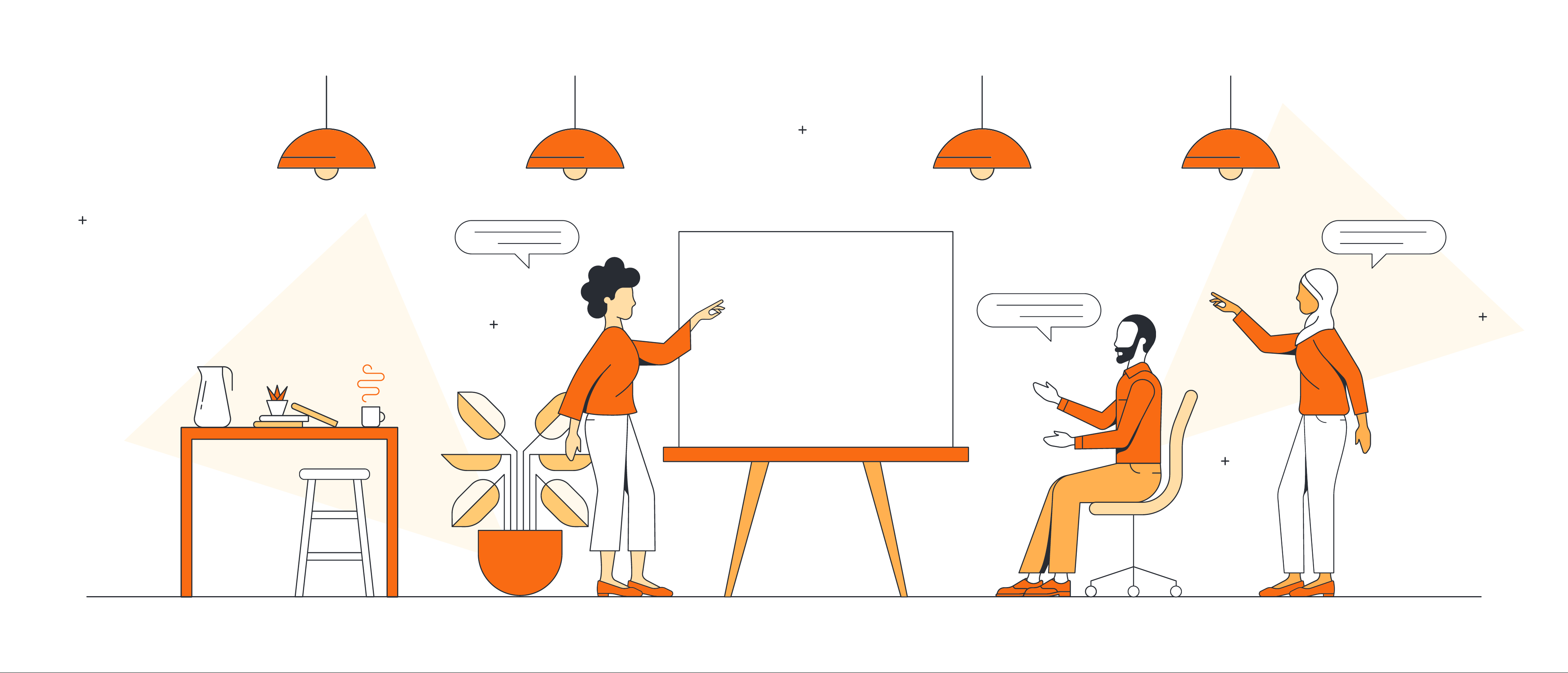 The benefits of creative unstructured spaces in project planning